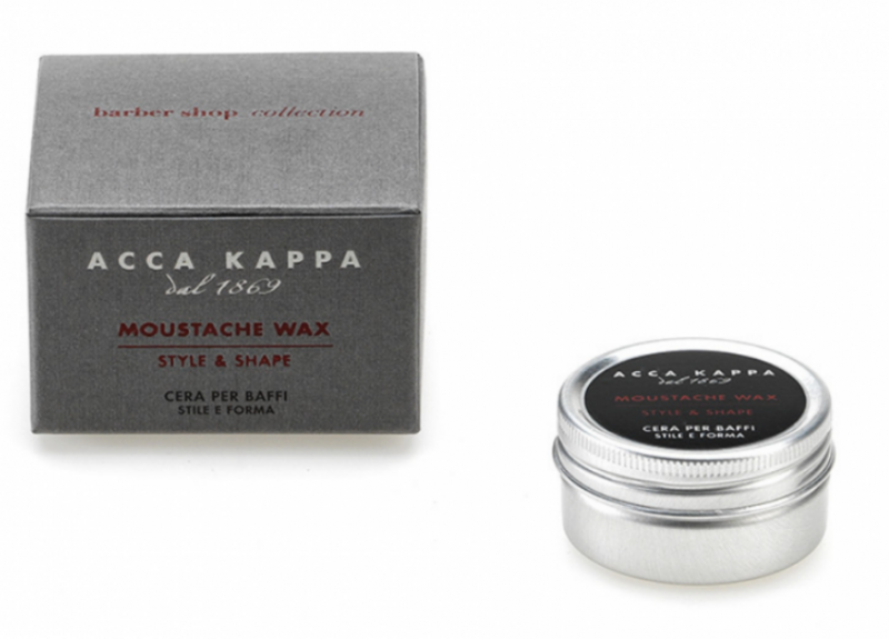 Acca Kappa Barber Shop Collection Moustache Wax 15ml