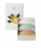 Acca Kappa White Moss, Green Mandarin & Sandelholz Seife 3x 150g Geschenkset